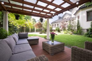 Beautiful Patio Cover in Athens - Athens Deck Builders