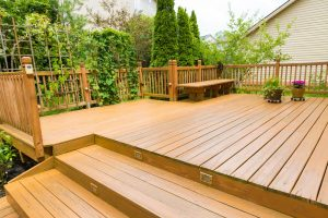 Beautiful residential deck - Home Deck Builders in Athens